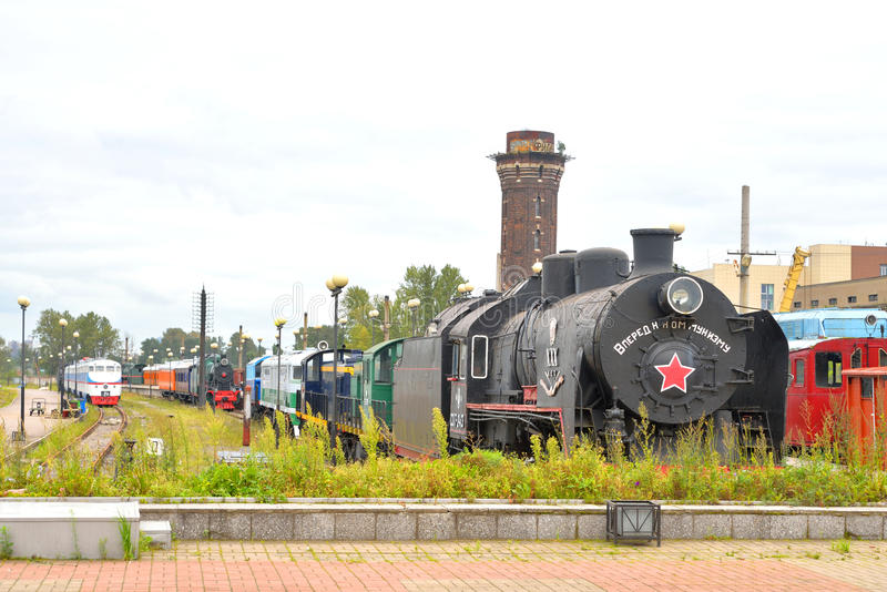 Musée de technologie ferroviaire photos libres de droits
