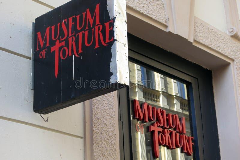 Musée de torture, Prague photographie stock