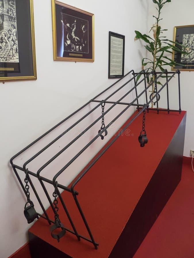 Musée de torture, Prague photos libres de droits