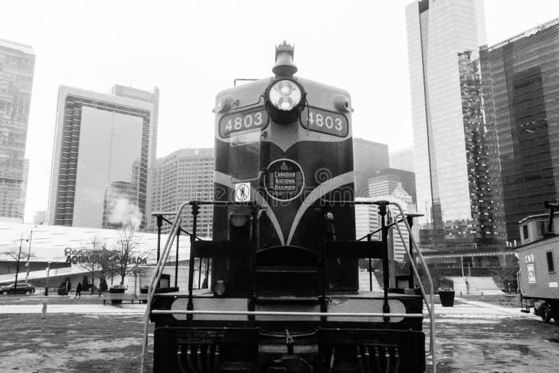 Musée de train photographie stock libre de droits