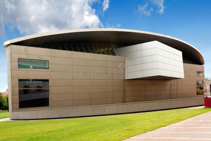 Musée de Van Gogh à Amsterdam photos stock