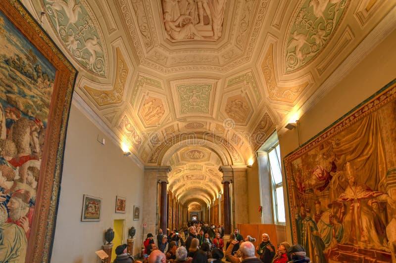 Musée de Vatican - Ville du Vatican images libres de droits