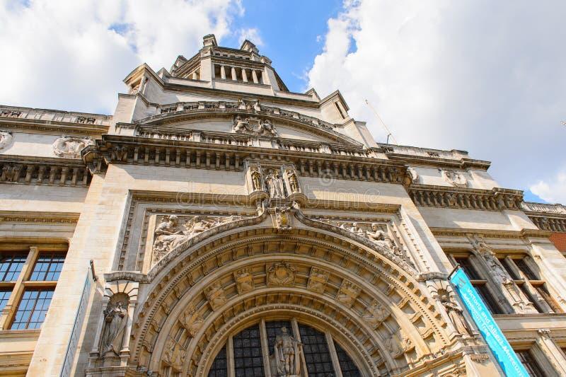 Musée de Victoria et d'Albert, Londres photos libres de droits