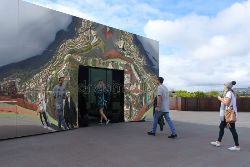 Musée de vieux et nouvel art en Hobart Tasmania Australia images stock
