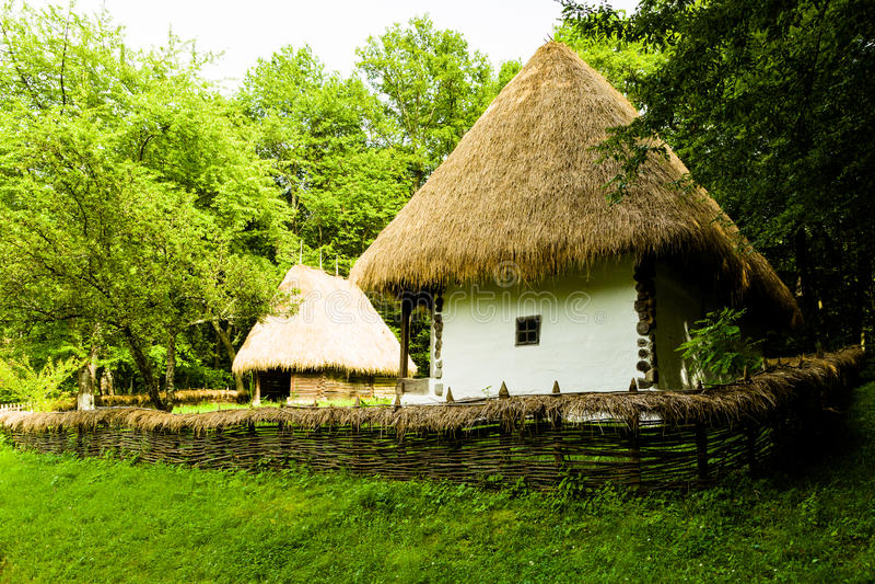 Musée de village, Sibiu image libre de droits