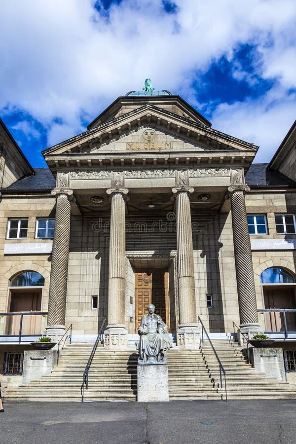 Musée de ville à Wiesbaden image libre de droits