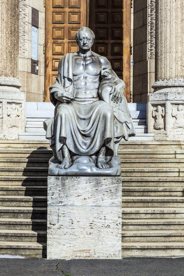 Musée de ville à Wiesbaden photo stock