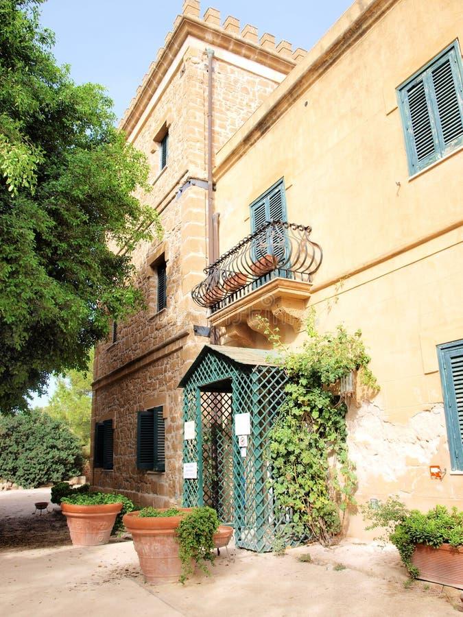Musée de Whitaker, Mozia, Sicile, Italie image stock