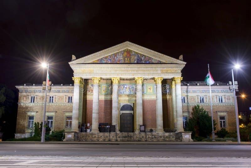 Musée des beaux-arts à Budapest photos stock
