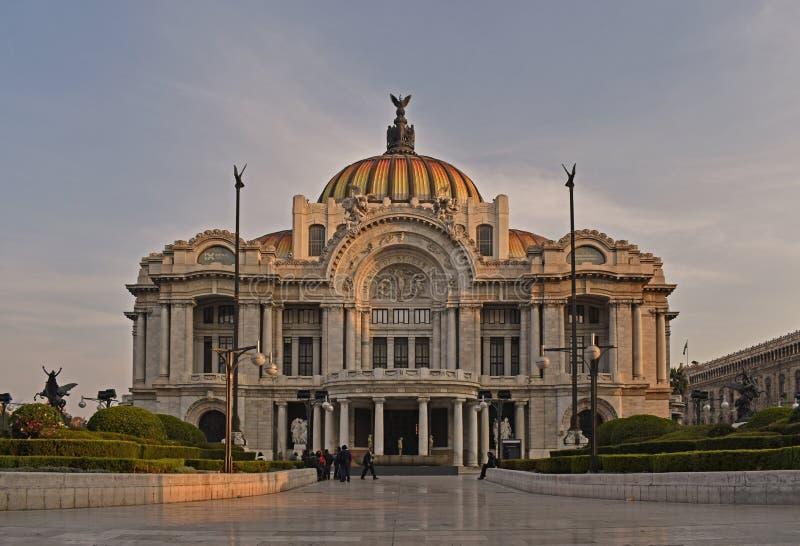 Musée des beaux-arts à Mexico photo libre de droits