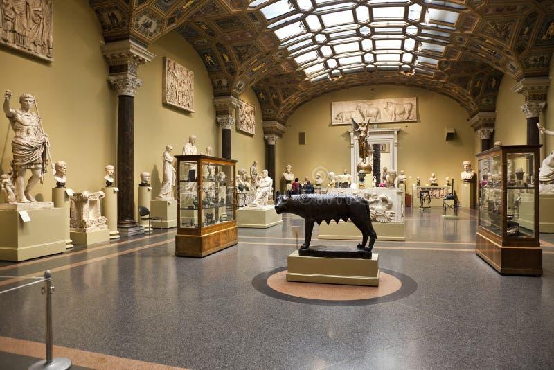 Musée des beaux-arts baptisés du nom d'A S pushkin photographie stock