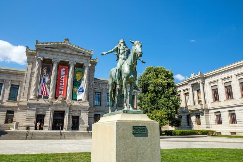 Musée des beaux-arts, Boston photo stock