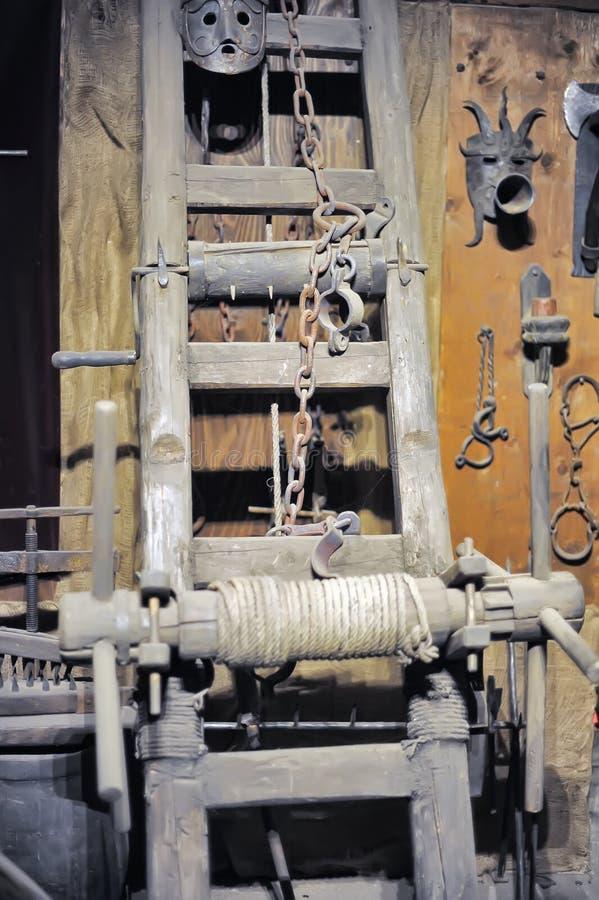 Musée des instruments médiévaux de torture photos libres de droits