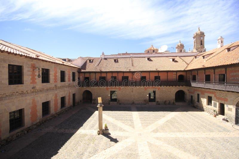 Musée des pièces de monnaie, menthe, Potosi Bolivie image libre de droits