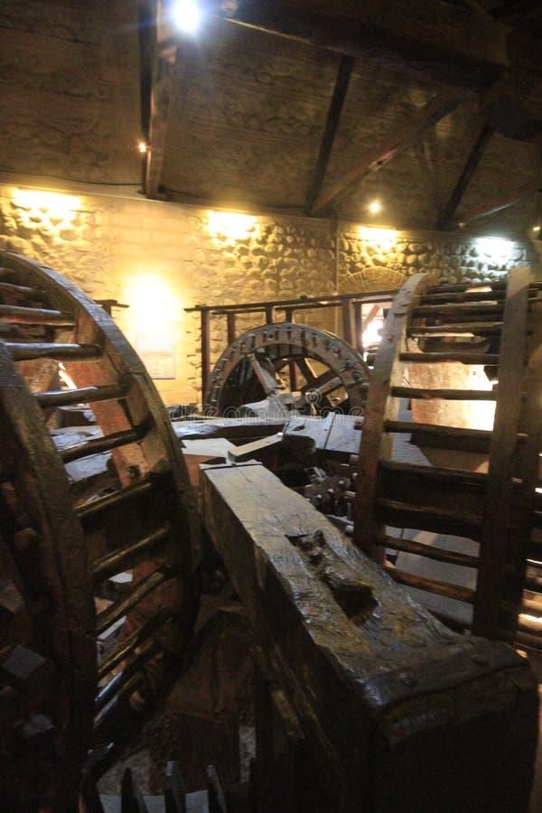 Musée des pièces de monnaie, menthe, Potosi Bolivie images stock