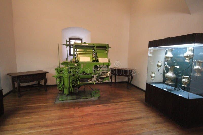 Musée des pièces de monnaie, menthe, Potosi Bolivie photo libre de droits