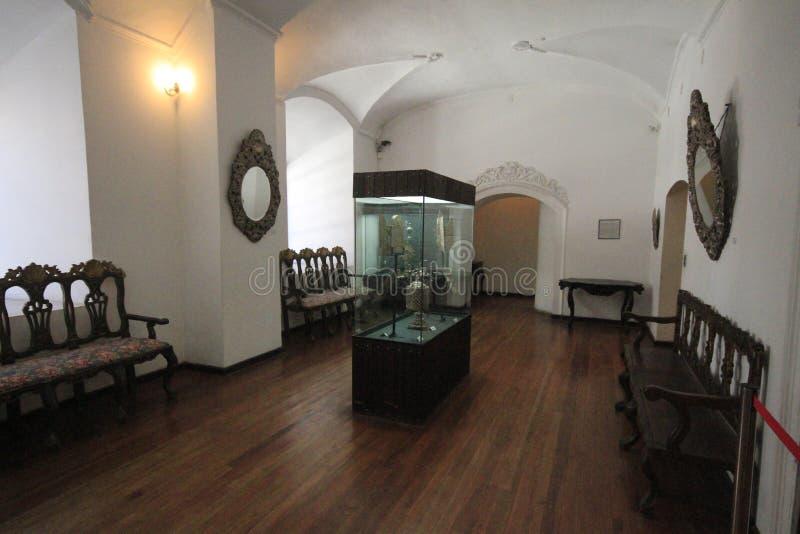 Musée des pièces de monnaie, menthe, Potosi Bolivie image stock