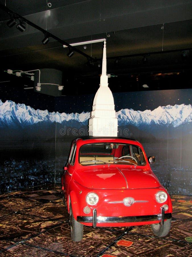 Musée des voitures Turin photo stock