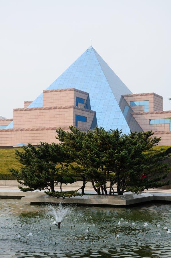Musée du cimetière du martyre de Longhua image libre de droits