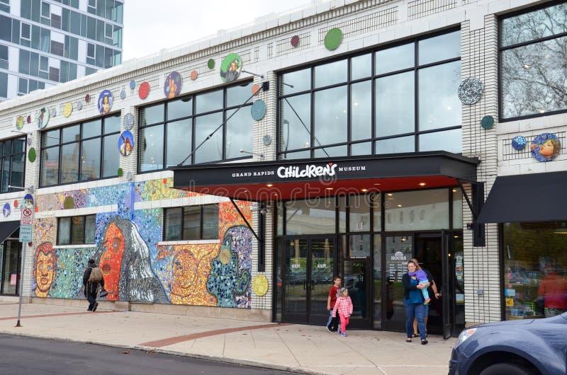 Musée du ` s d'enfants de Grand Rapids photo stock