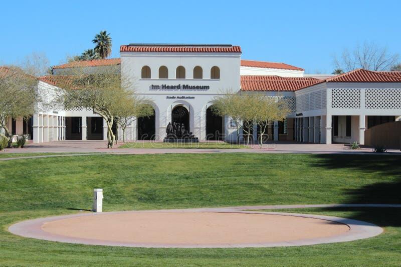 Musée entendu à Phoenix, Arizona photo libre de droits