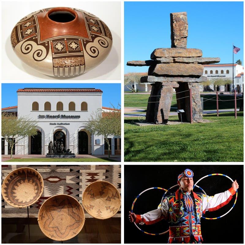 Musée entendu à Phoenix, Arizona images libres de droits