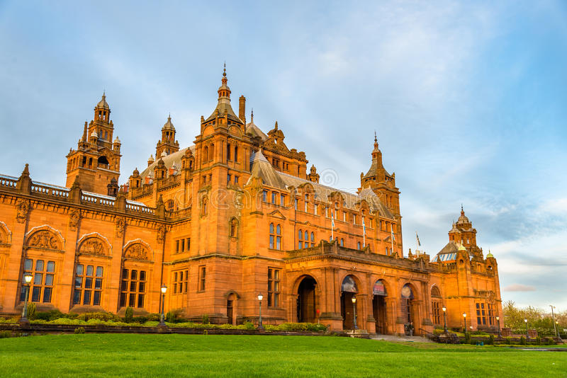 Musée et Art Gallery de Kelvingrove à Glasgow photographie stock