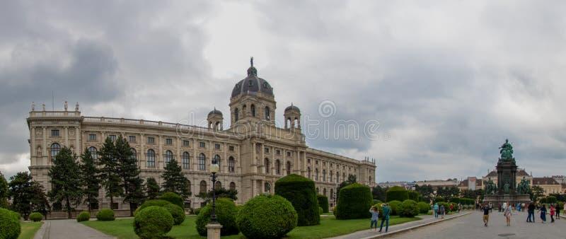 Musée et Maria Theresia Monument Maria-Theresia-Denkmal de Naturhistorisches de musée d'histoire naturelle photographie stock libre de droits