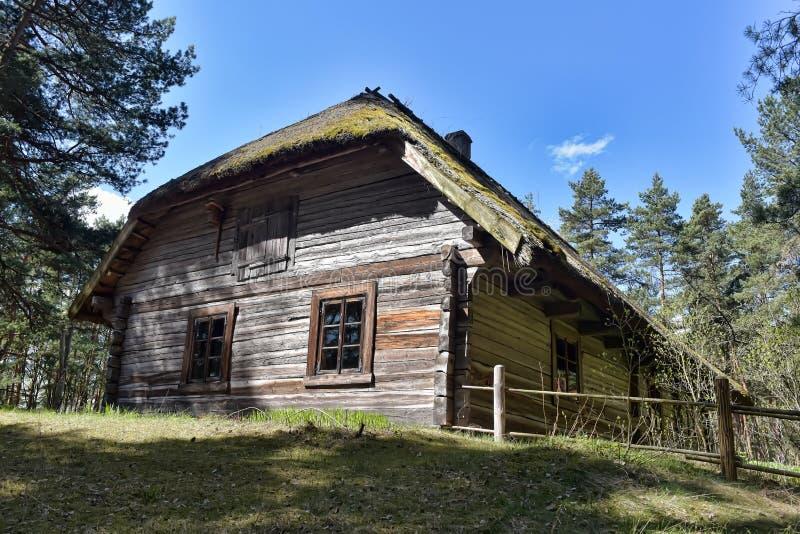 Musée ethnographique en plein air letton à Riga images stock