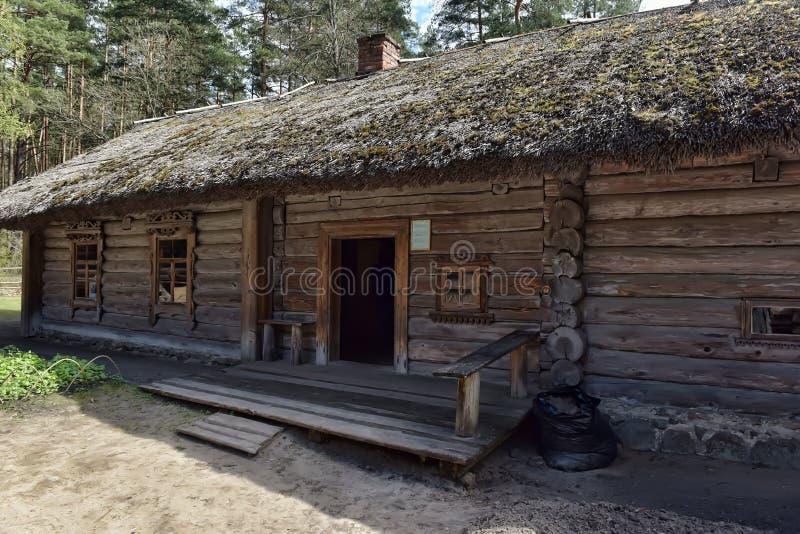 Musée ethnographique en plein air letton à Riga photographie stock libre de droits