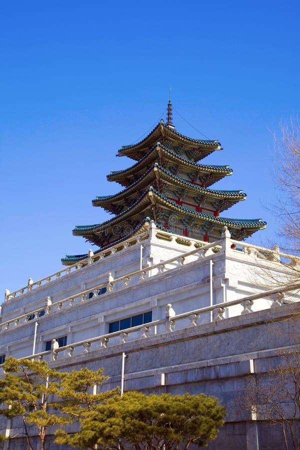 Musée folklorique national de la Corée image stock