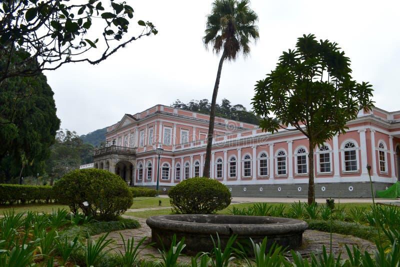 Musée impérial de la résidence de Petropolis des empereurs brazilan photo stock