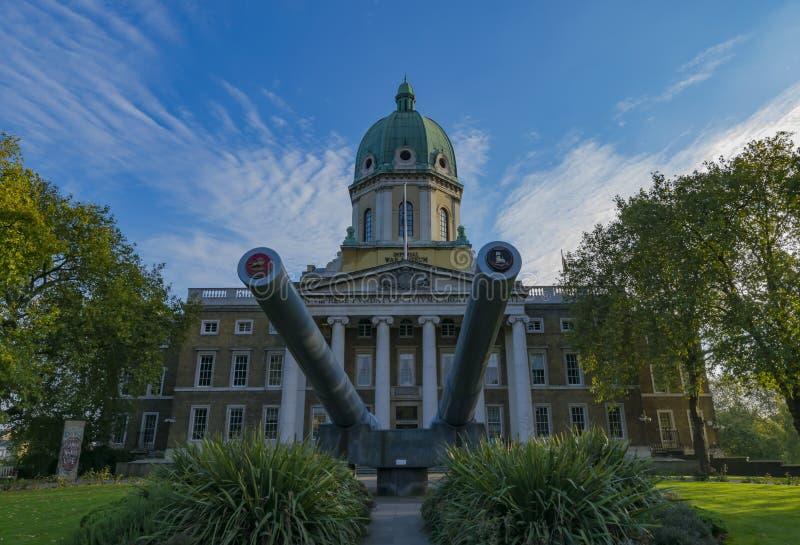 Musée impérial Londres de guerre photographie stock libre de droits