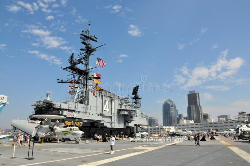 Musée intermédiaire de San Diego USS photographie stock