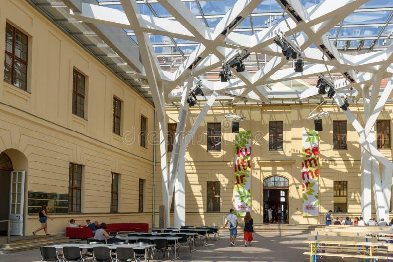 Musée juif de disches de ¼ du musée JÃ à Berlin, Allemagne, l'Europe image libre de droits