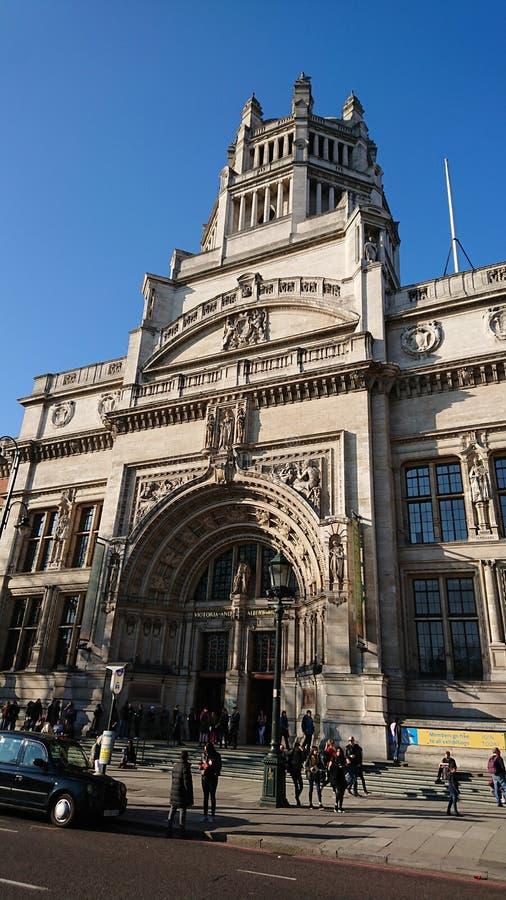 Musée Londres de Victoria et d'Albert photographie stock libre de droits
