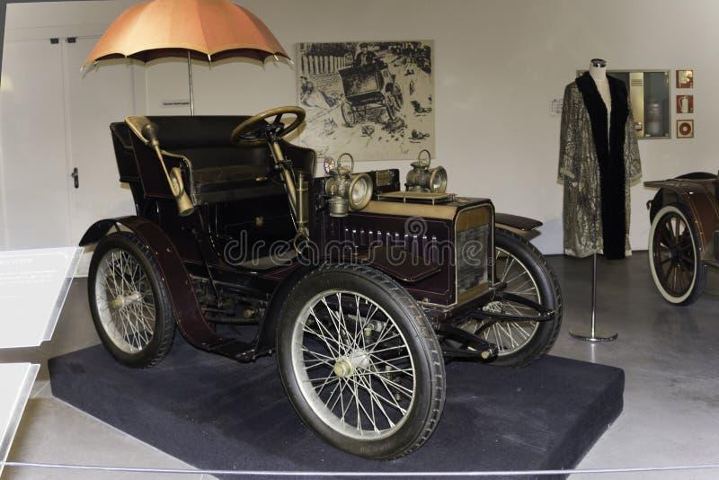 Musée Malaga d'automobile d'automobile de vétéran de Miniverette photos stock