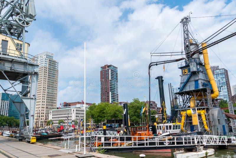 Musée maritime Rotterdam image libre de droits