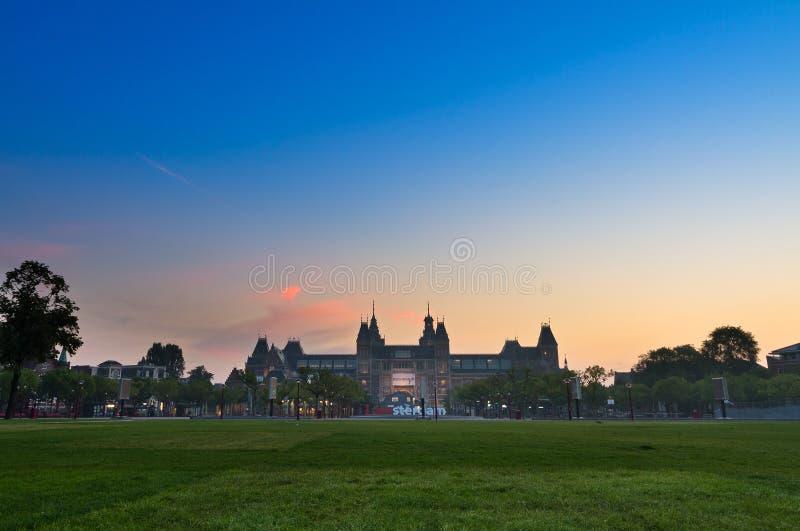 Musée National Amsterdam photo libre de droits