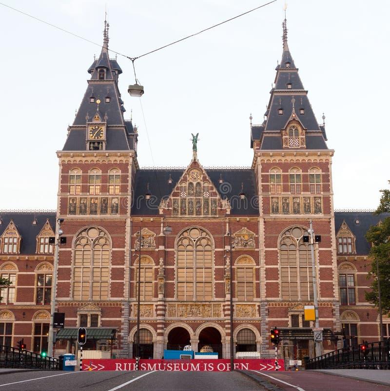 Musée National Amsterdam image libre de droits
