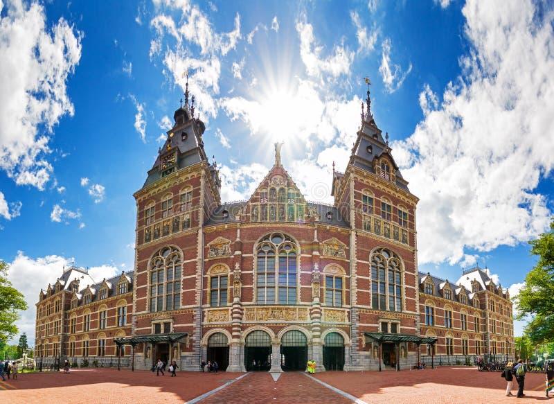 Musée national Amsterdam d'état photographie stock libre de droits