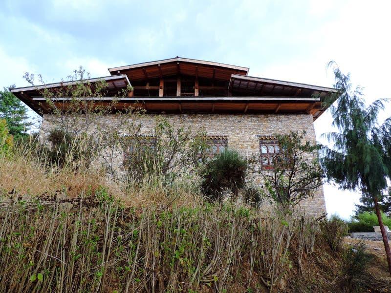 Musée National, Bhutan images libres de droits