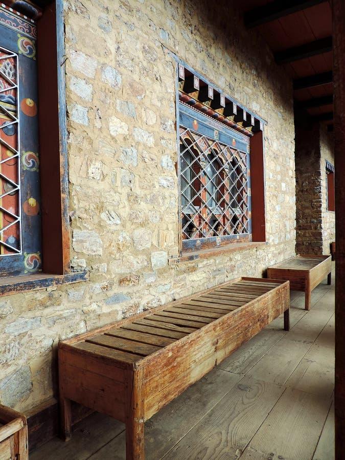 Musée National, Bhutan photo stock