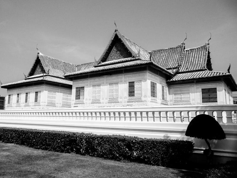 Musée National cruciforme de Chantharakasem de tente images stock