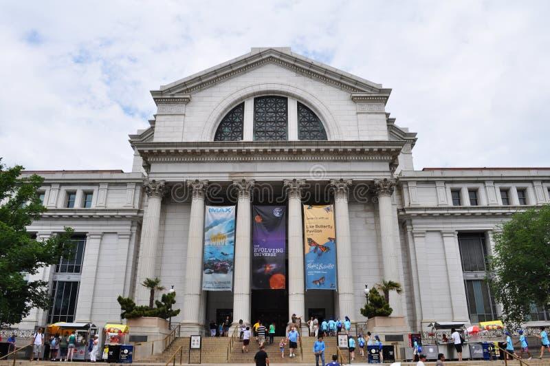Musée National d'histoire naturelle photo libre de droits
