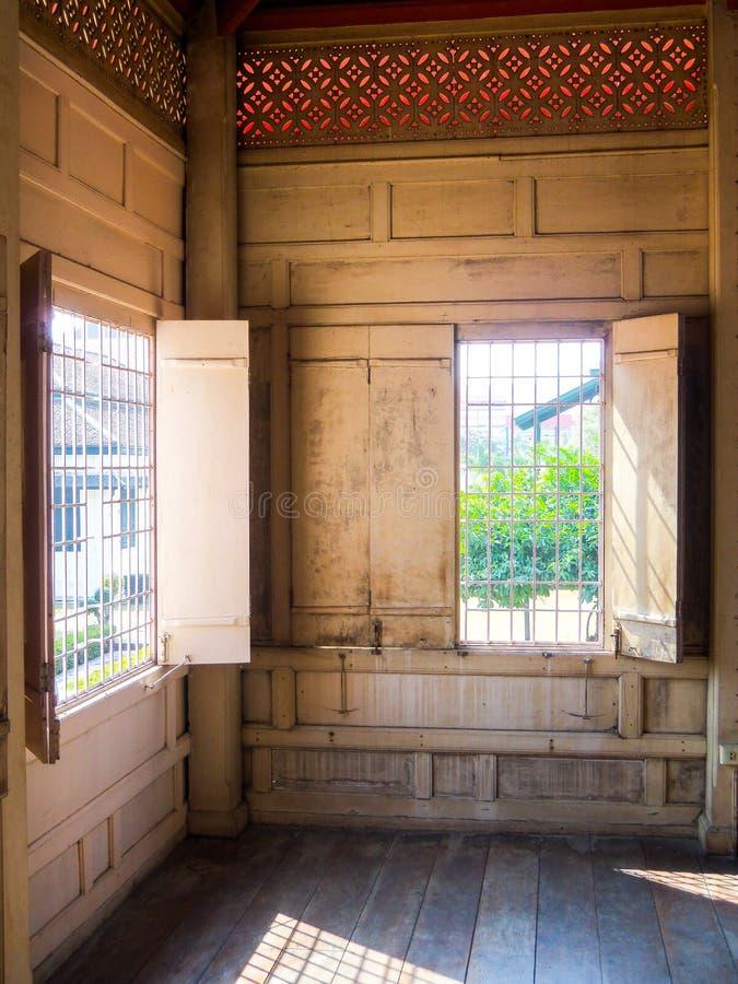 Musée National d'intérieur cruciforme de Chantharakasem de tente image libre de droits