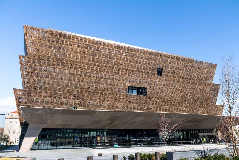 Musée National de l'histoire d'Afro-américain et de la culture - Washington, D C , les Etats-Unis images stock