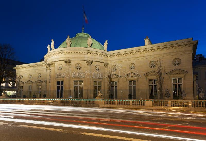 Musée National de la légion d'honneur et d'ordres de chevalerie photographie stock