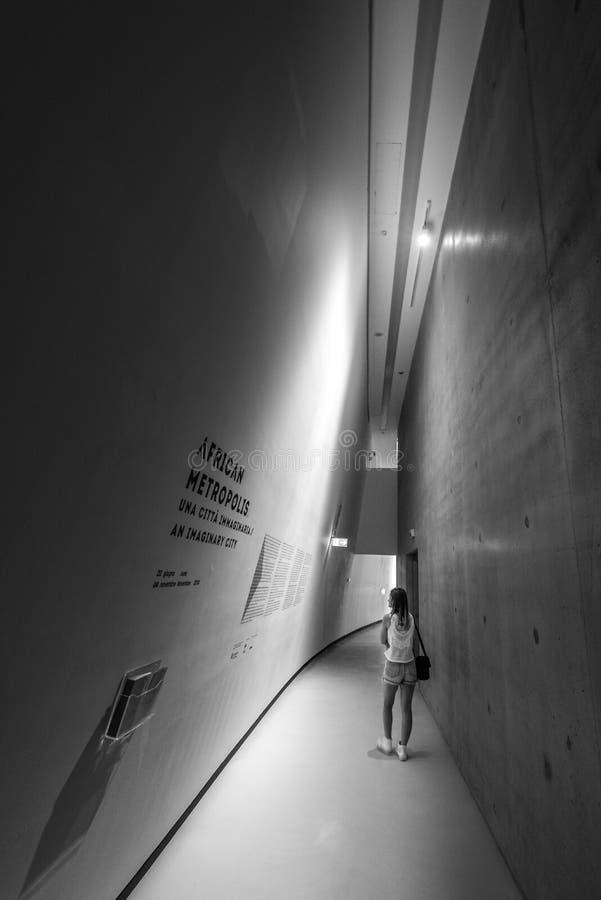 Musée National de MAXXI XXI des arts de siècle photo libre de droits