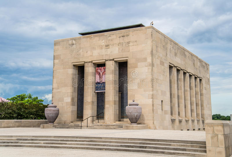Musée national de Première Guerre Mondiale photo stock